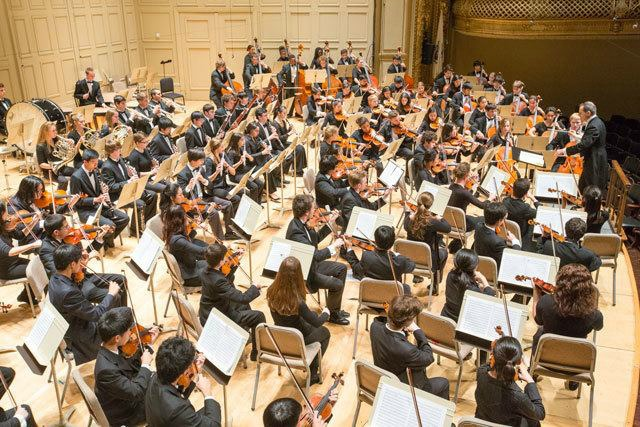 Verdi Aida, Boston Youth Symphony Orchestras