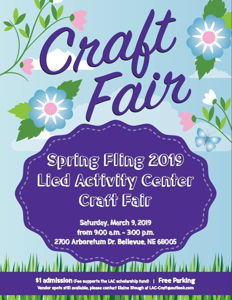BPS Lied Activity Center Spring Craft Fair