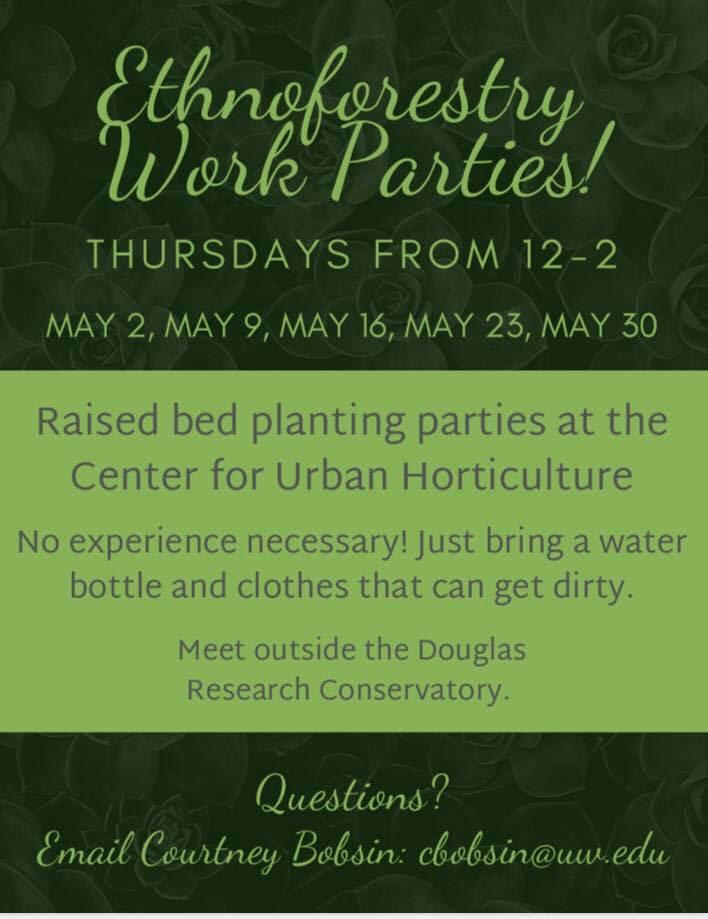 Ethnoforestry Work Parties