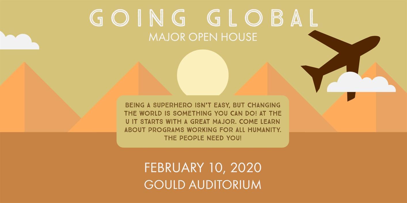 Major Open House: Going Global