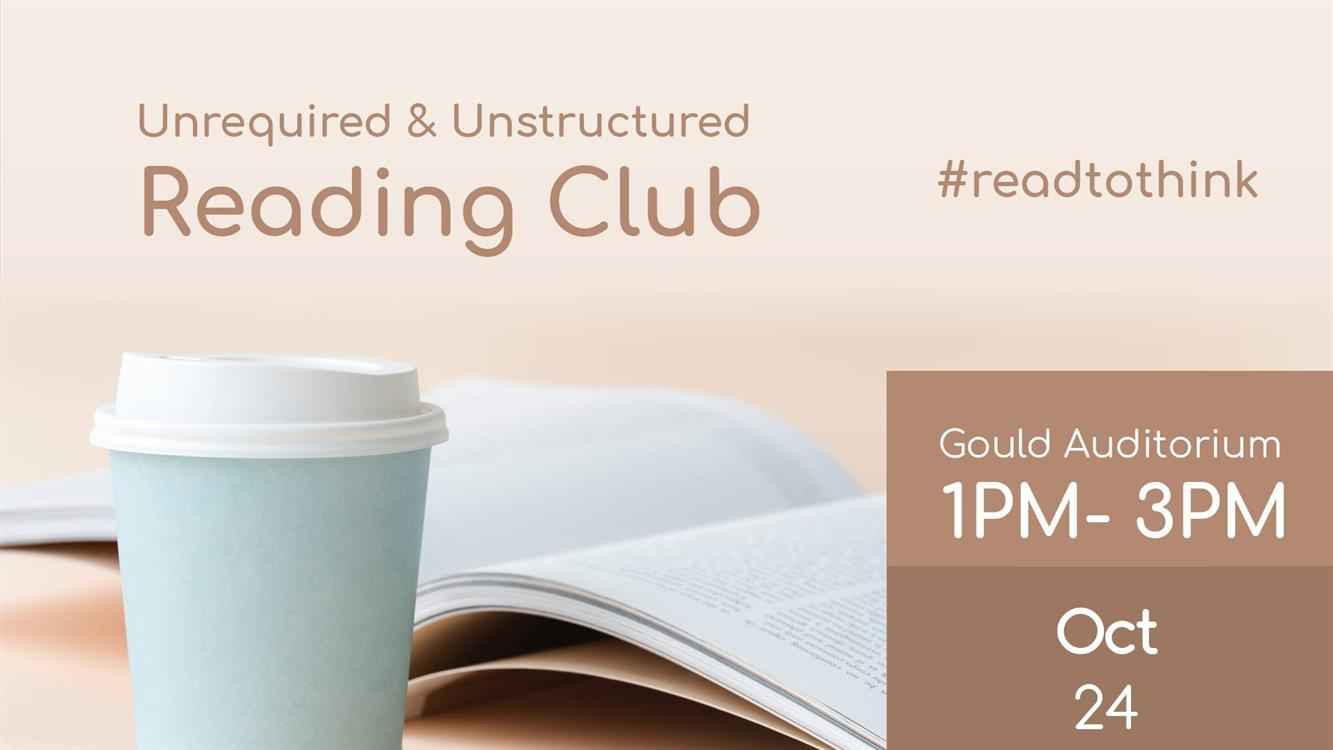 Free Coffee + Book Recommends