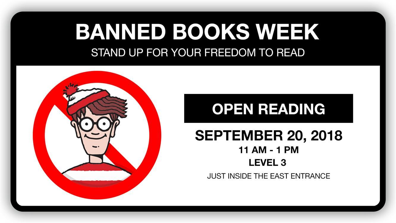 Banned Books Week Open Reading