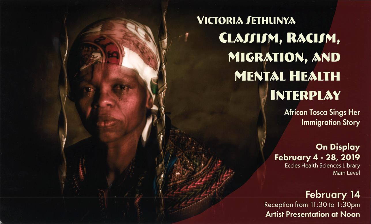 Exhibit: Classism, Racism, Migration, and Mental Health Interplay - Victoria Sethunya