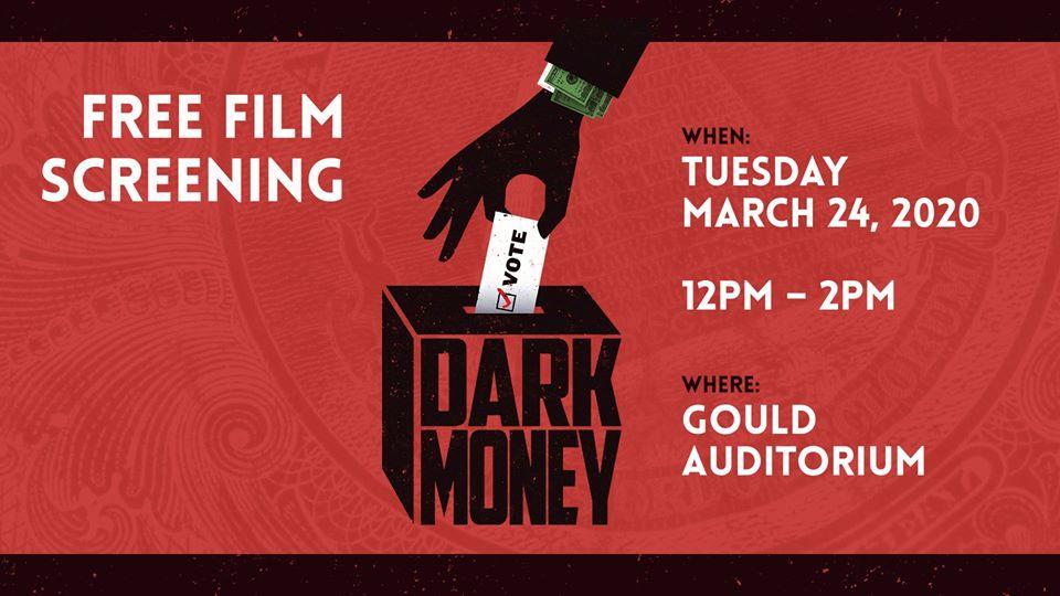 "Free Film Screening- ""Dark Money"""