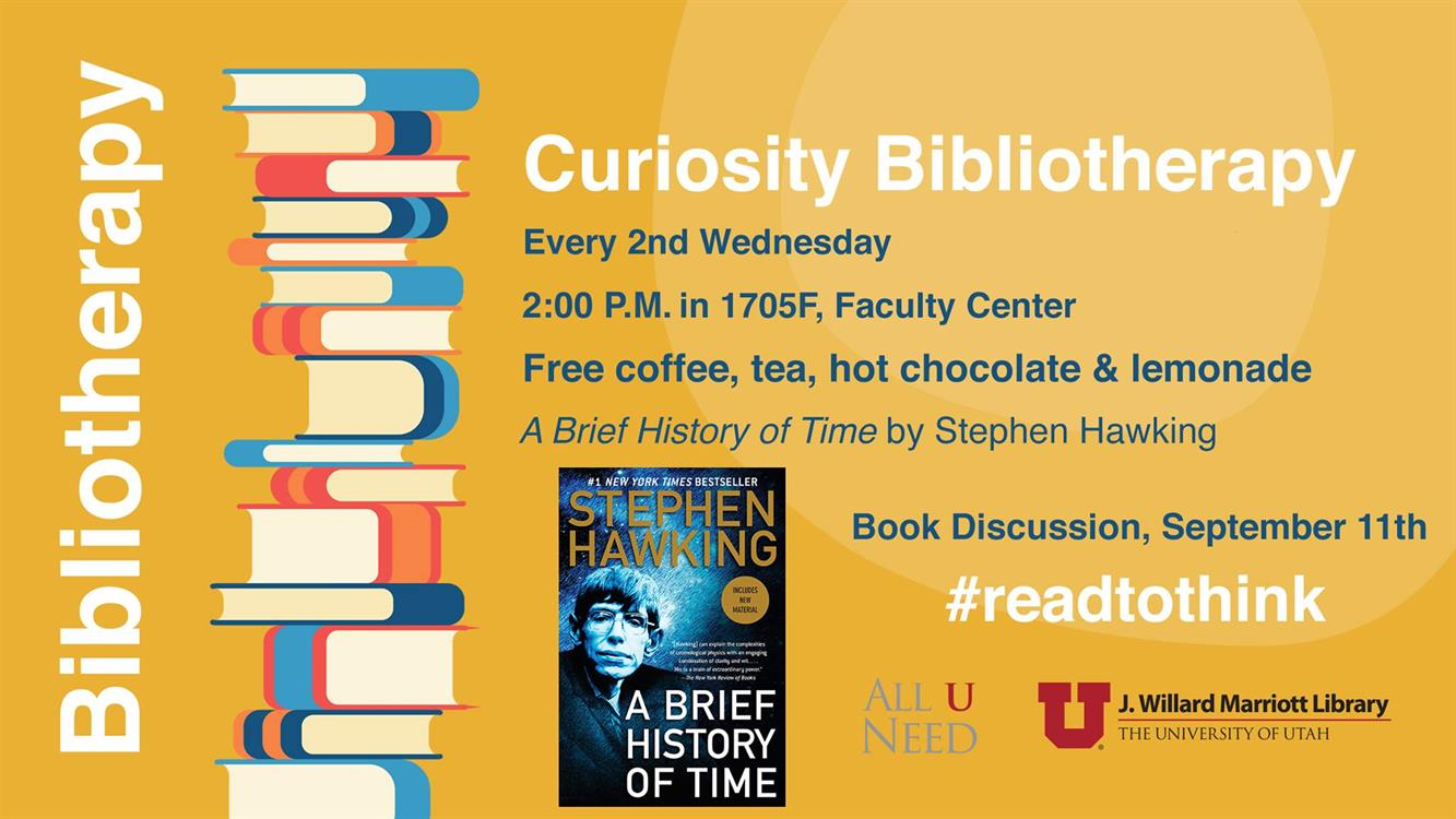 """Book Discussion - """"A Brief History of Time"""" by Stephen Hawking"""