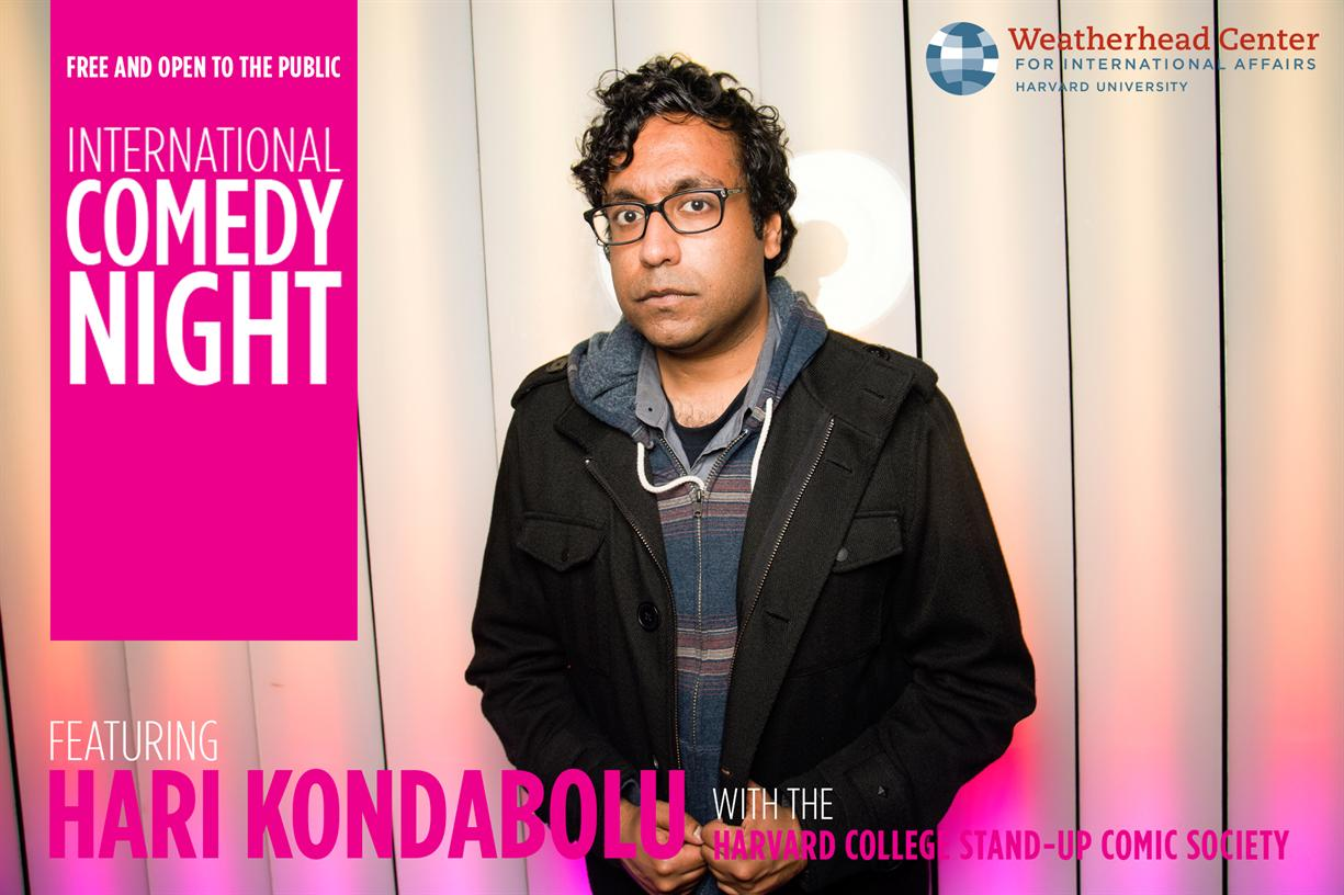 International Comedy Night with Hari Kondabolu