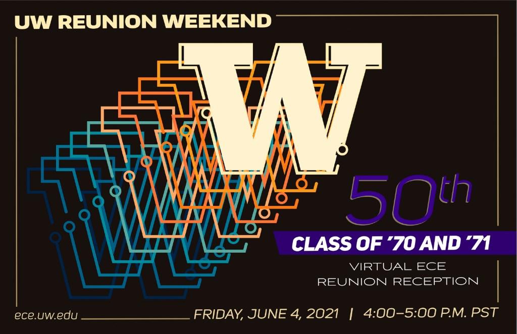 UW ECE Class of 1970 and 1971 Virtual Reunion Reception