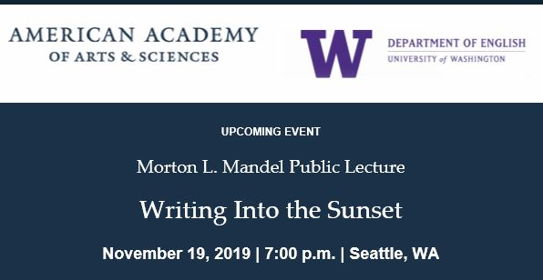 Writing Into the Sunset with Annie Proulx and Shawn Wong