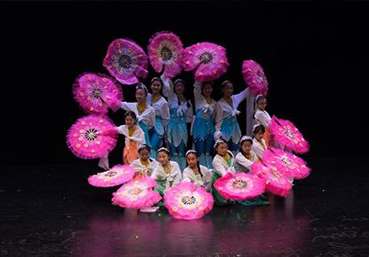 图书馆华人文艺表演(Chinese Traditional Music and Dance)