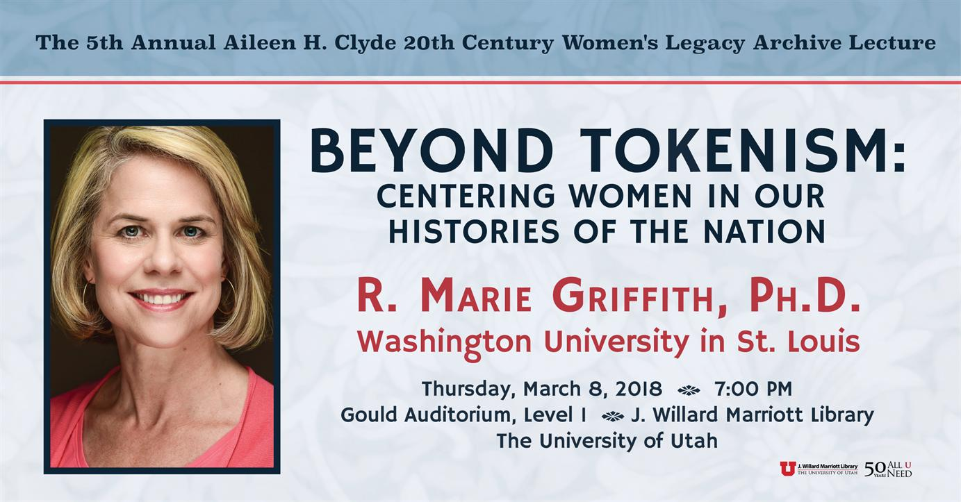 5th Annual Aileen H. Clyde 20th Century Women's Legacy Archive Lecture