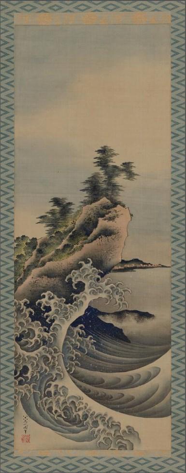 Reproducing Hokusai's Masterpieces
