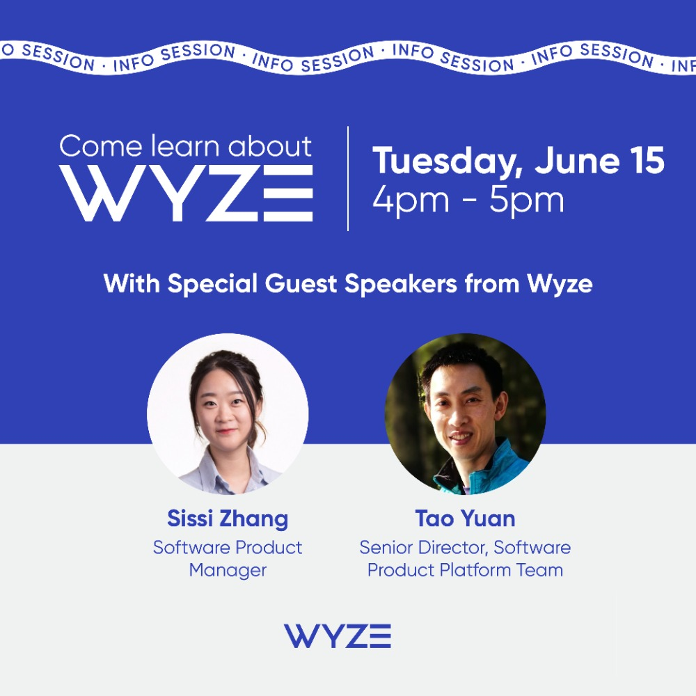 WYZE Jobs - Information Session 6/15, 4 p.m.