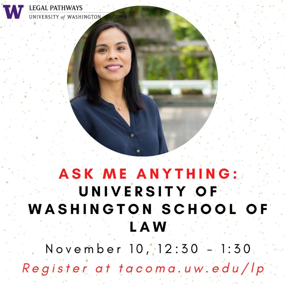 (WEBINAR) Ask Me Anything: University of Washington School of Law