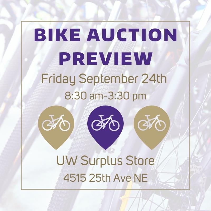 Surplus Bike Auction Preview