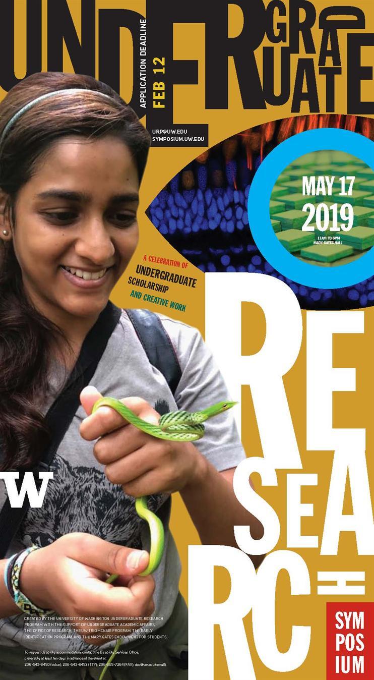 UW Seattle Undergraduate Research Symposium