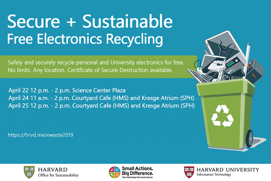 Secure & Sustainable Electronics Recycling Event