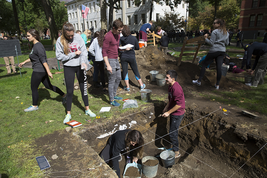 Archaeology Live: Harvard College Life in Colonial Times