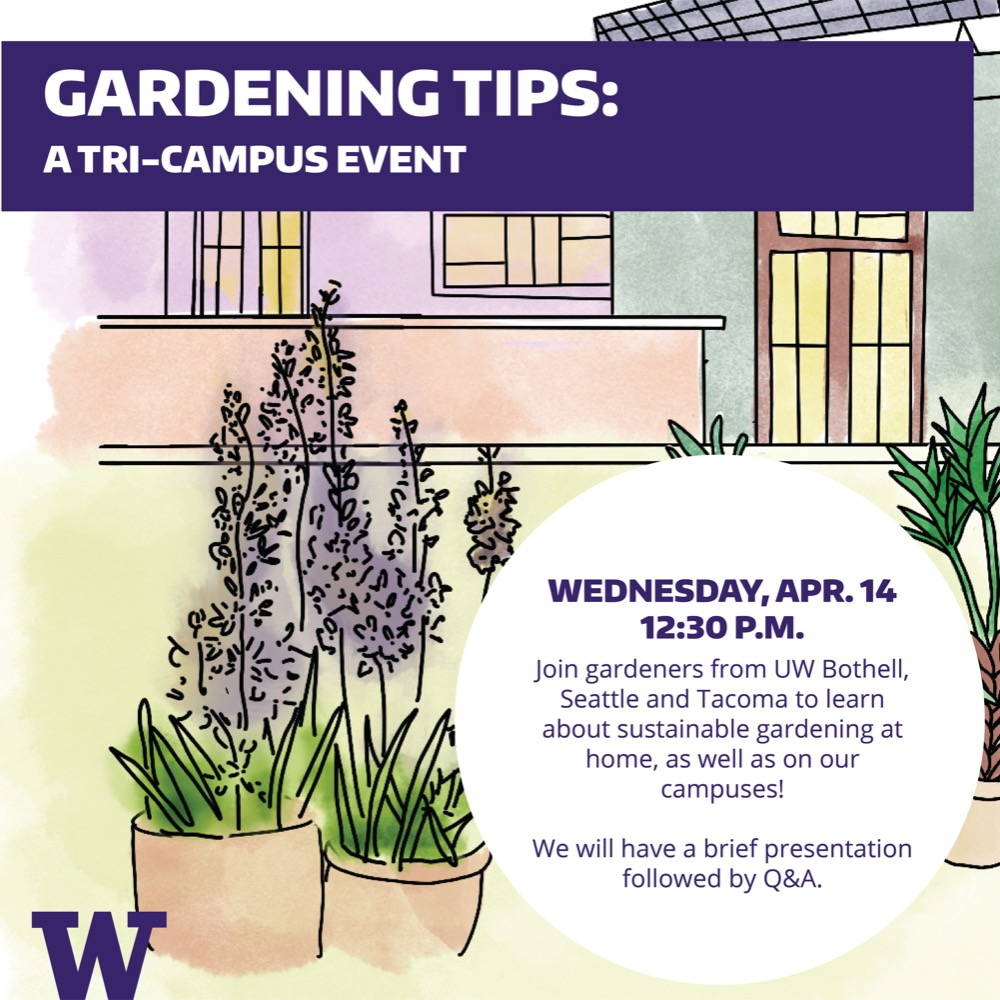 Gardening at home: a tri-campus event