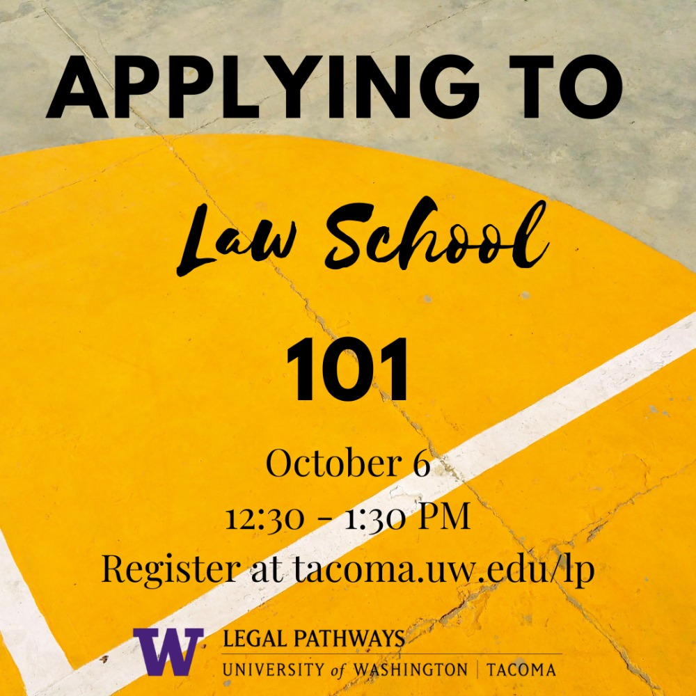 (WEBINAR) Applying to Law School 101