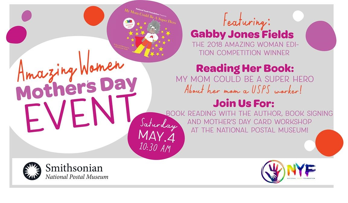Amazing Women Mother's Day reading & card workshop