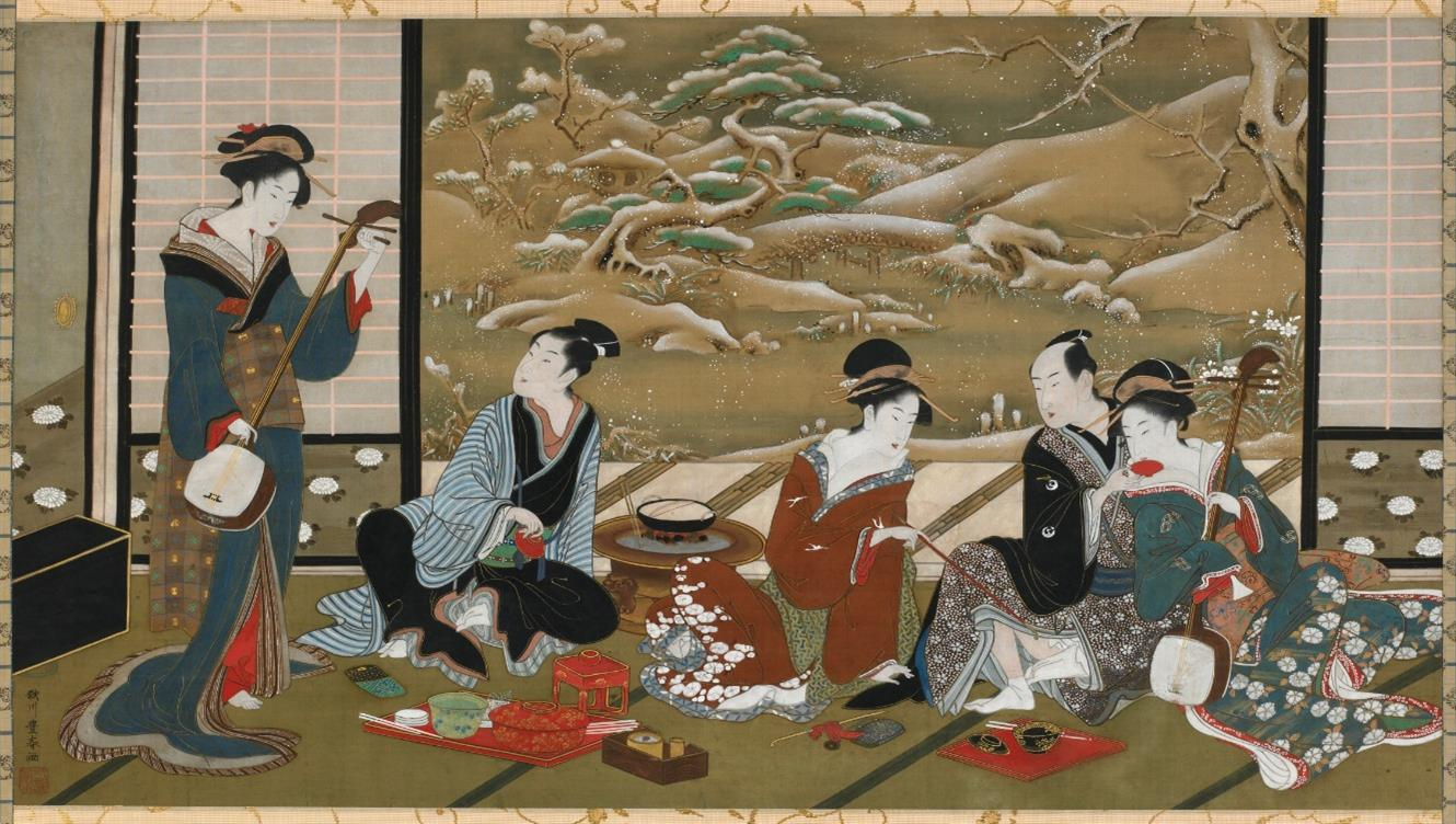 The Shamisen in Japanese Art and Music