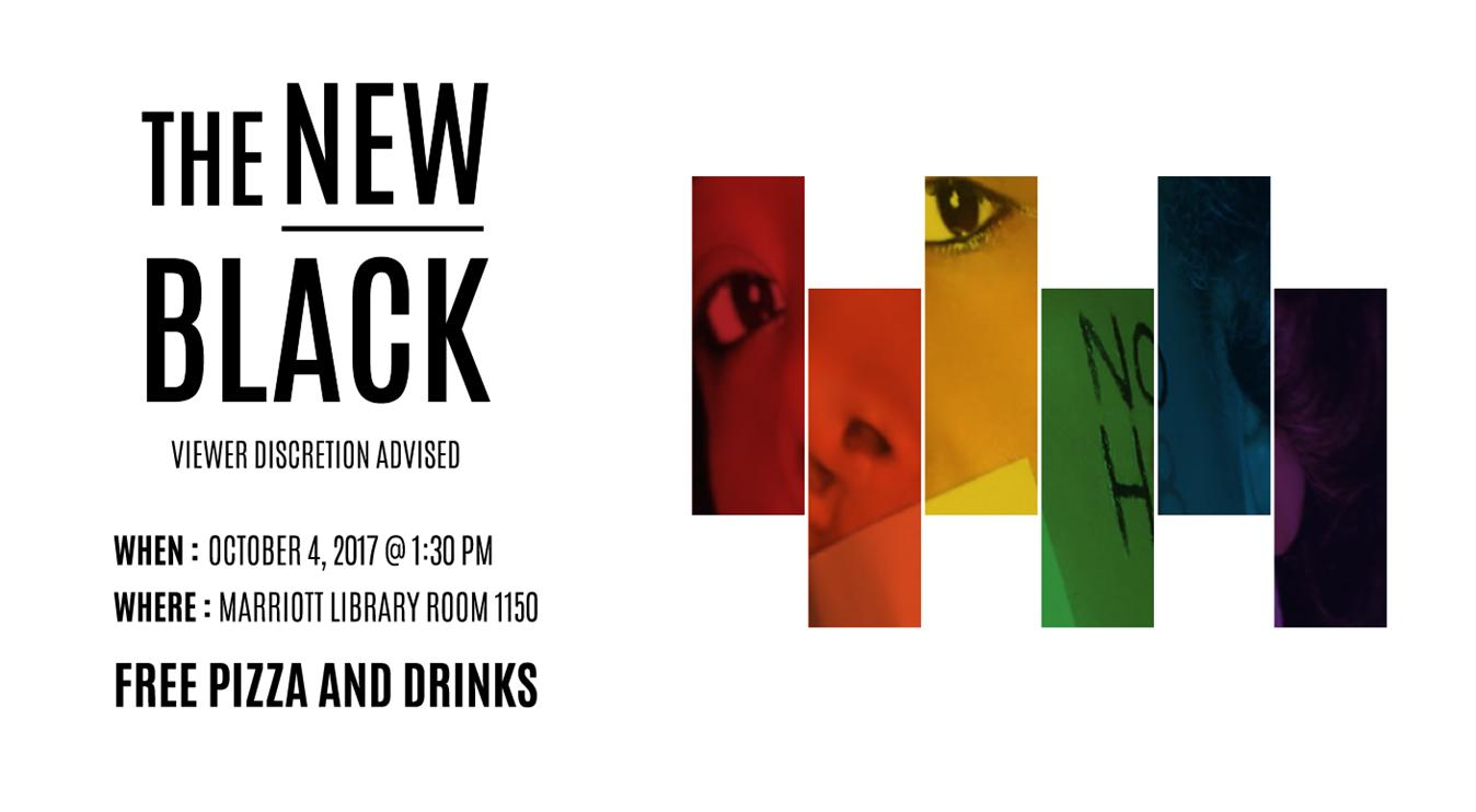 "Free Film and Pizza - ""The New Black"""