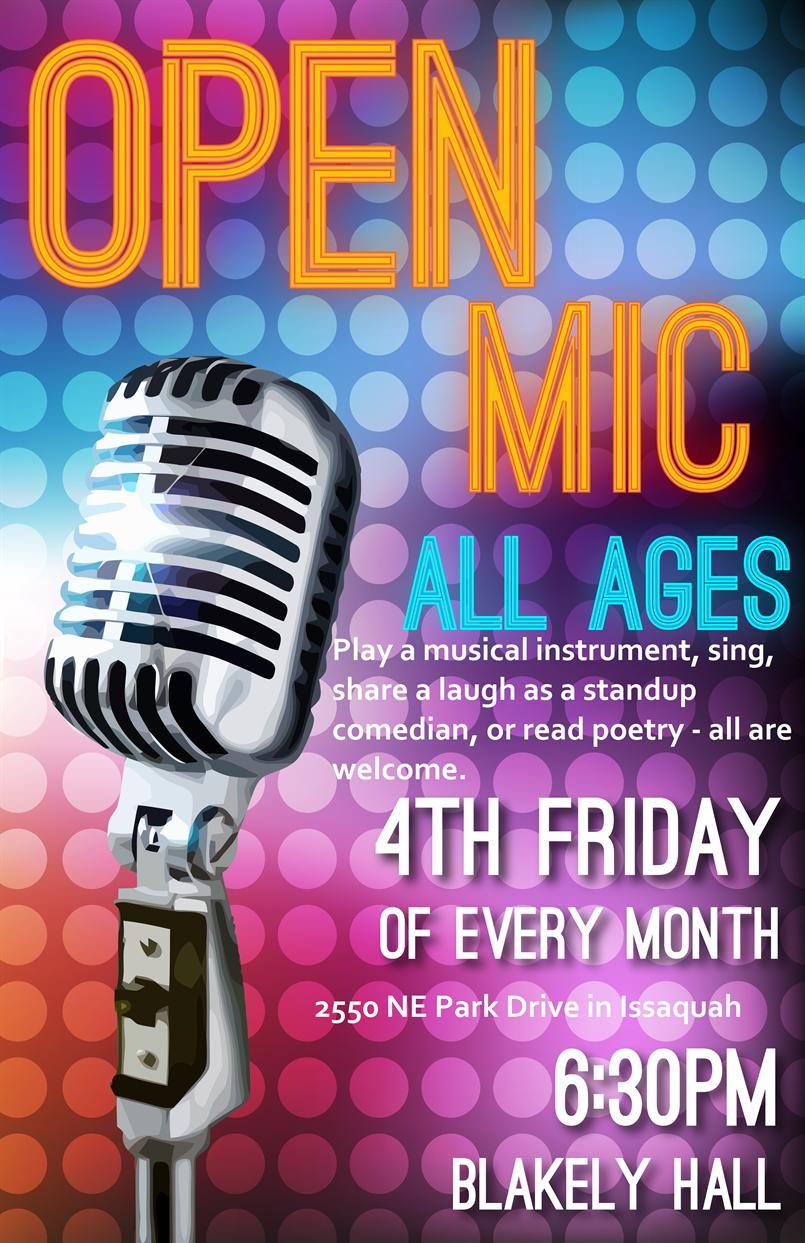 Open Mic at Blakely Hall
