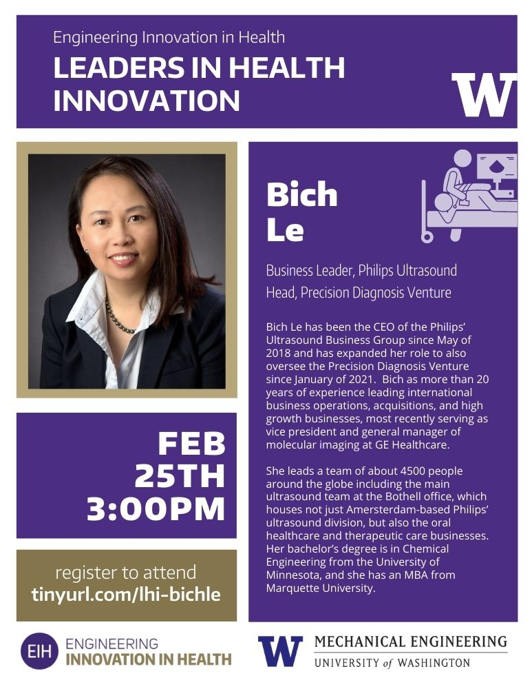 EIH Leaders in Health Innovation: Bich Le (Philips)