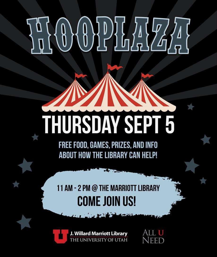 Hooplaza! Free Food + Prizes
