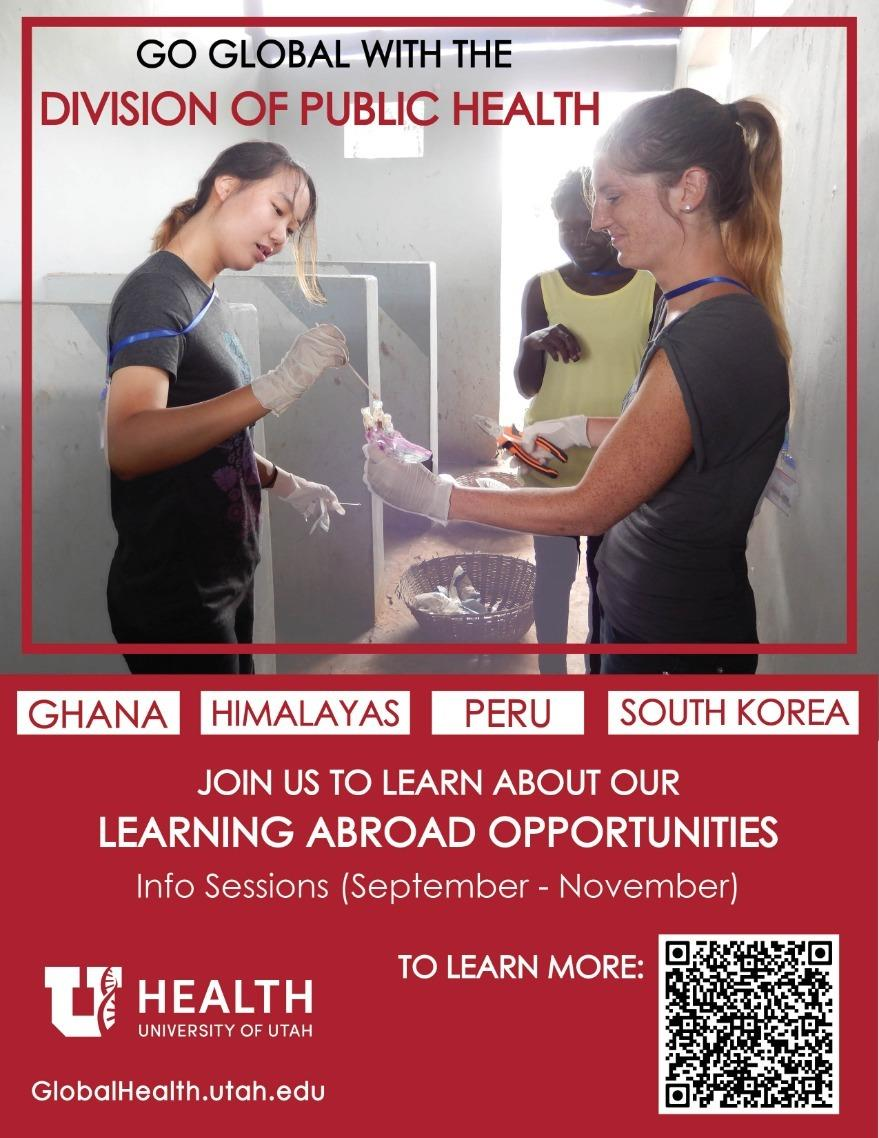 Global Public Health Learning Abroad Information Session