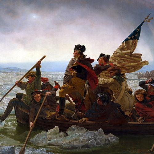 Art + History: Washington Crossing the Delaware by Emanuel Leutze