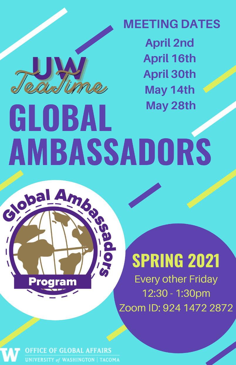 UWTeaTime x Global Ambassadors