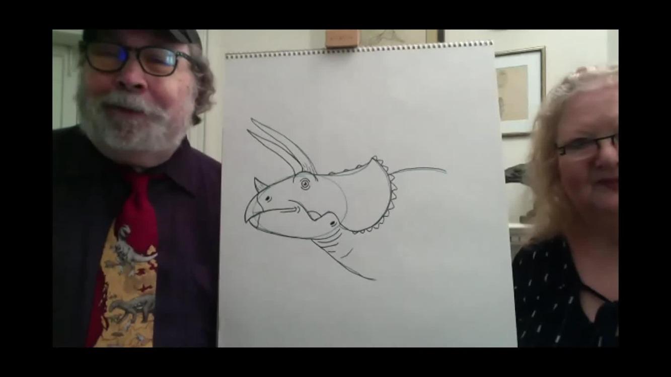 Video Webinar for Families: Natural History at Home - Dinosaur Drawings