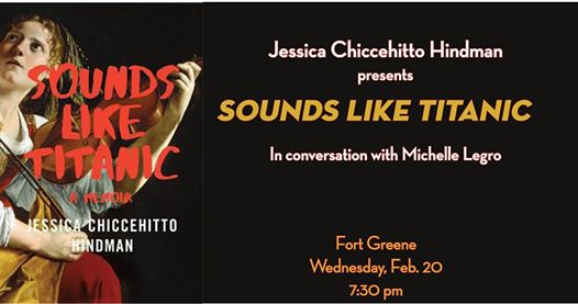 Jessica Chiccehitto Hindman presents Sounds Like Titanic