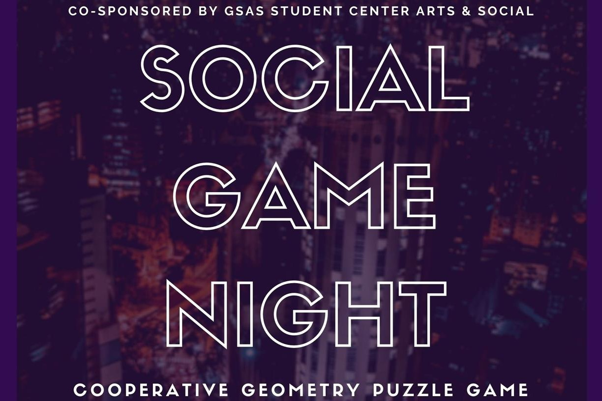 Social Game Night: Cooperative Geometry Puzzle Game