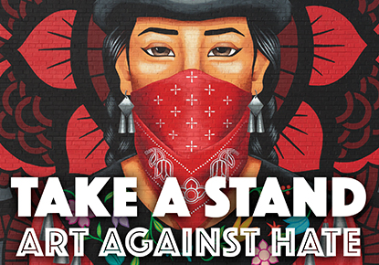 "Raven Chronicles presents ""Take a Stand: Art Against Hate"""