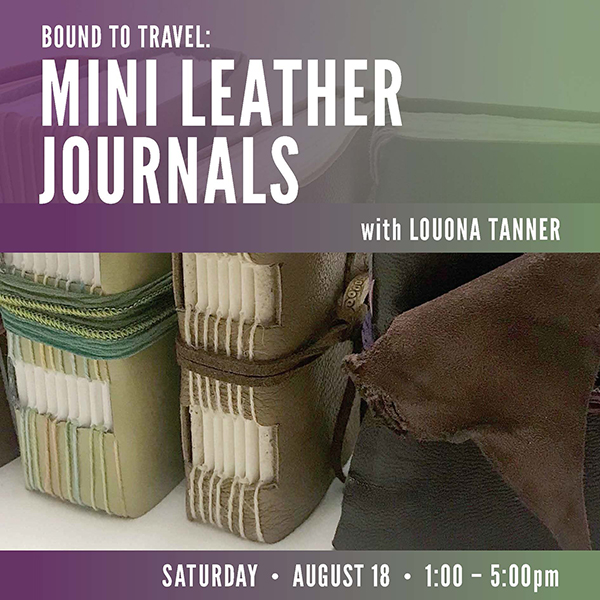 Bound to Travel: Mini Leather Journals