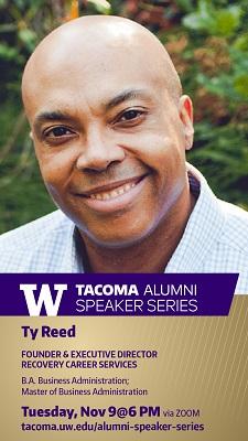 UW Tacoma Alumni Speaker Series featuring Ty Reed, '98, '09