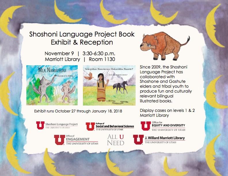 Shoshoni Language Project Book Exhibit & Reception
