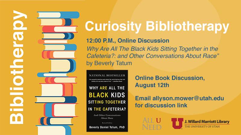 """Book Discussion - """"Why Are All the Black Kids Sitting Together"""" by Beverly Daniel Tatum"""