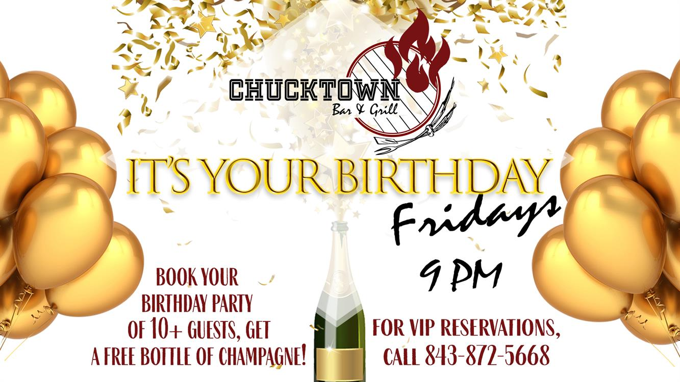 It's Your Birthday! Fridays