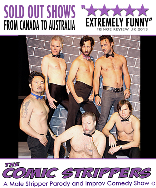 THE COMIC STRIPPERS ! MAPLE RIDGE