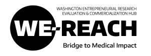 WE-REACH logo