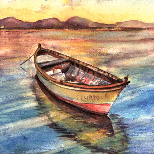 Beautiful Landscapes in Watercolor