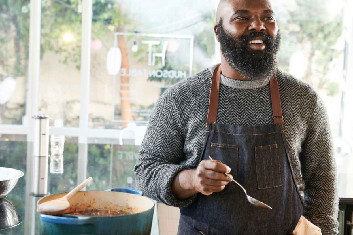 """""""How Much for One Rib?"""": Virtual Cooking Demo and Conversation with Chef Omar Tate"""