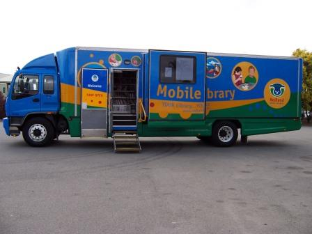 Redland City Event - Mobile Library Stop