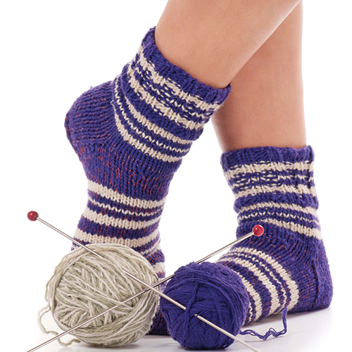 Knitting Socks in 3 Weekends