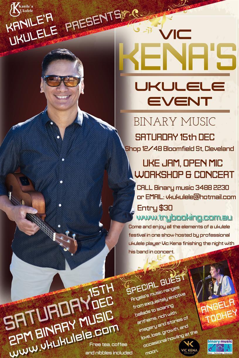 Redland City Event - Vic Kena's Ukulele Event