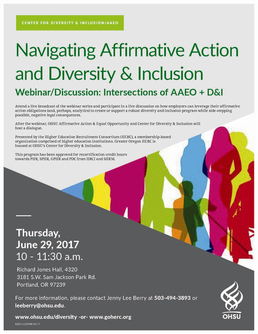 organizational diversity affirmative action and diversity Diversity councils are integrated groups of site leaders, managers and employees, who work to improve employee engagement, provide learning and leadership opportunities, increase communication, and facilitate implementation of organizational diversity plans diversity councils are supported by a local executive champion.