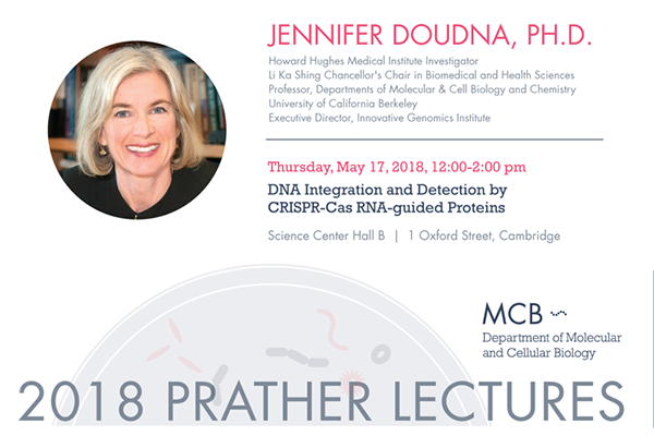 Prather Scientific Lecture: DNA integration and detection by CRISPR-Cas  RNA-guided proteins